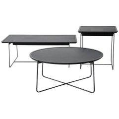 """Cuvee De Nuit"" Low Rectangular Side Table by Stephane Lebrun for Dessie'"