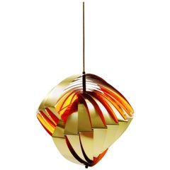 Konkylie Tivoli Lamp by Louis Weisdorf for Lyfa, Denmark