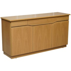 Display Use Only Skovby SM303 Sideboard Buffet Counter Velvet Drawers