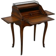 Theodore Alexander French Louis XV Writing Desk Bureau Houses Laptop