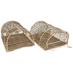 Vintage French Foldable Lobster Trap