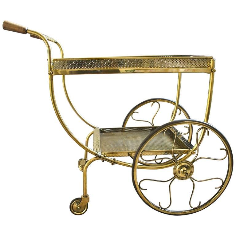 Drinks Trolley / Bar Cart by Svensk Tenn, circa 1950