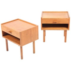 Pair of Nightstands by Wegner
