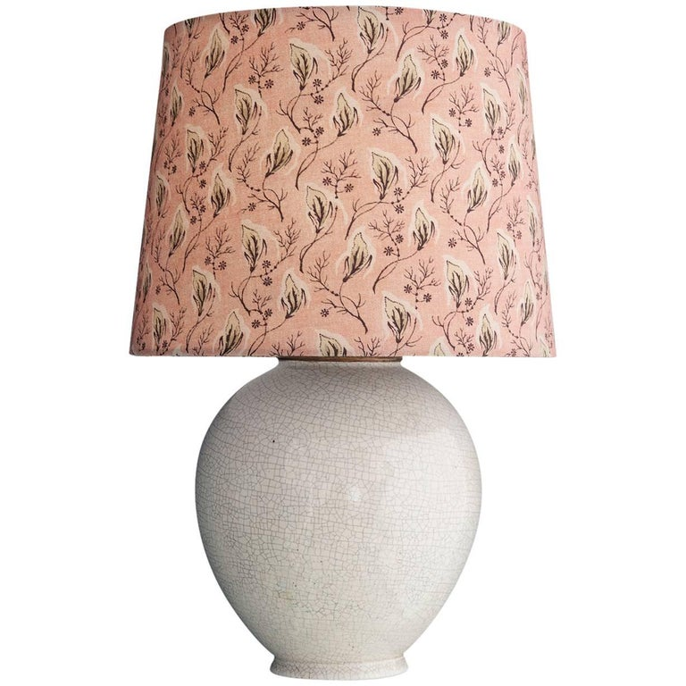 Vintage French Ceramic Table Lamp 1