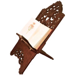 Very Large French Arts & Crafts Book Rest, Ecclesiastical Reading Stand, Lutrin