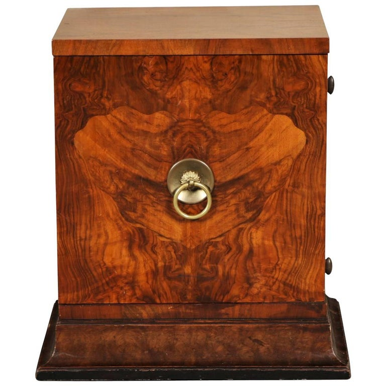 Burl wood cabinet for sale at 1stdibs for Burl wood kitchen cabinets