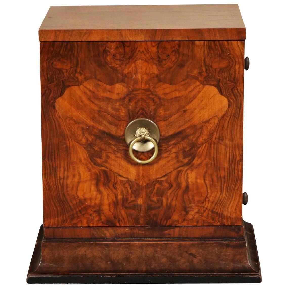 Burl Wood Cabinet For Sale