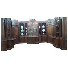 Italian 19th Century Bookcase