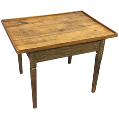 18th Century Rustic Oak Coffee Table