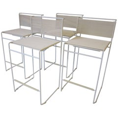 Giandomenico Belotti Stack Able Italian Bar Stools