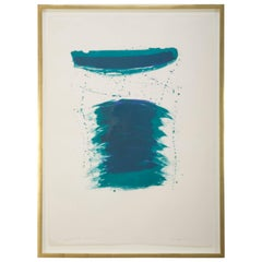 """""""Very First Stone"""" Lithograph by Sam Francis"""
