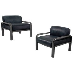 Pair of Gae Aulenti Lounge Chairs for Knoll