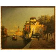 Antoine Bouvard Venetian Scene
