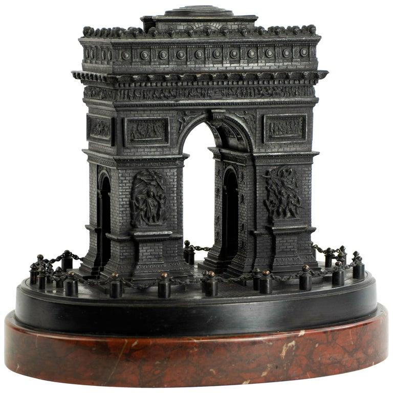 Arc de Triomphe, Paris LeBlanc Freres, Paris, circa 1850 Measures: 9