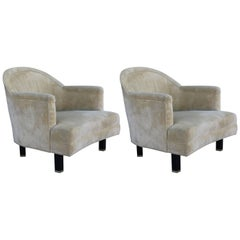 Pair of Lounge Chairs by Harvey Probber