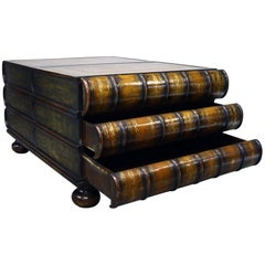 Maitland-Smith Stacked Book Coffee Table