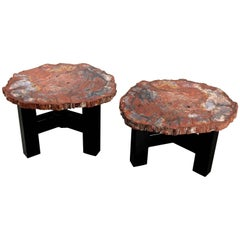 Two Side Tables by Ado Chale