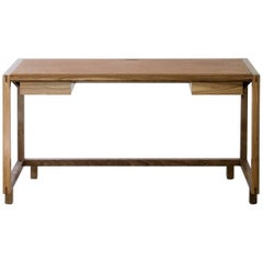"""Optimum"" Walnut Desk Designed by Stephane Lebrun for Dessie'"