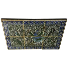Set of Persian Tile Wall Hanging