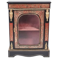 Fine Antique French Boulle Side Cabinet