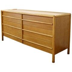 Mid-Century Modern Robsjohn-Gibbings for Widdicomb Six-Drawer Walnut Dresser