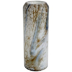 Val St. Lambert Midcentury Art Glass Vase