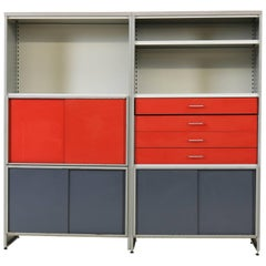 Dutch Modular Double Cabinet 5600 by Andre Cordemeijer for Gispen, 1962