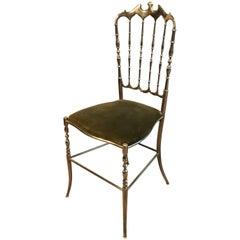 Charivari Brass Ball Room Chair