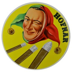 1950s Hofnar Cigars Advertising Display