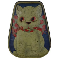 Horner Toffee Tin with Cat , England , 1930s