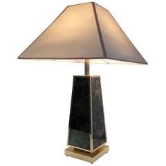 Pyramidal Lamp in the Style of Aldo Tura