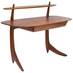 Allen Ditson Solid Walnut Commissioned Desk