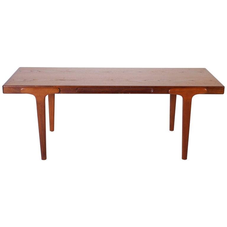 Midcentury Danish Teak Coffee Table, 1950s For Sale