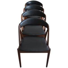 Kai Kristiansen Midcentury Teak Dining Chairs