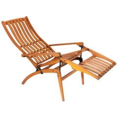 Thonet Siesta Medizinal Bentwood Lounge Chair, Hans & Wassili Luckhardt, 1930s