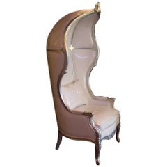Carriage Armchair in Romantic and Baroque Style