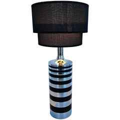 Large Italian Table Lamp, circa 1970