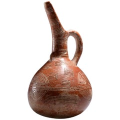 Cypriot Early Bronze Age Red Polished Ware Beaked Jug, 2300 BC