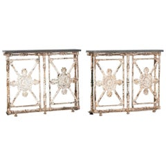 Pair of 19th Century Bespoke Console Tables