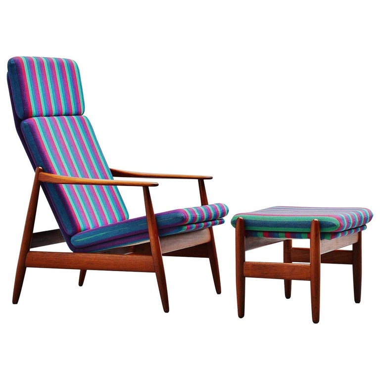 Poul Volther Lounge Chair by Frem Røjle, Denmark, 1960