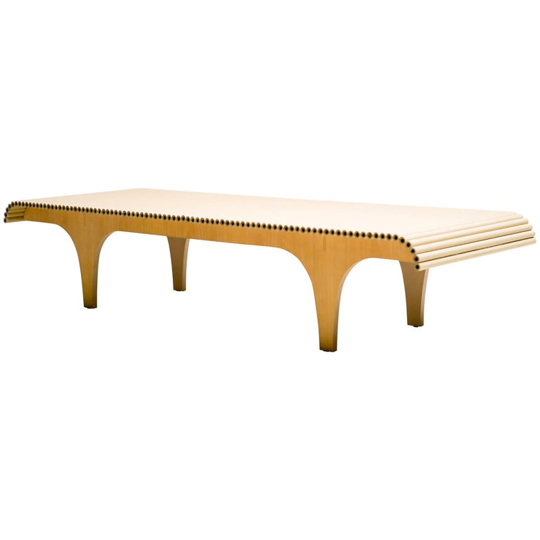 Carta Bench Designed by Shigeru Ban for Cappellini