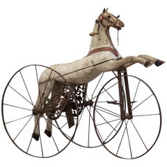 Late 19th Century French Horse Tricycle