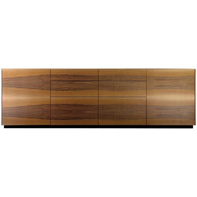 """Brown"" Side Cabinet Designed by Stephane Lebrun for Dessie'"