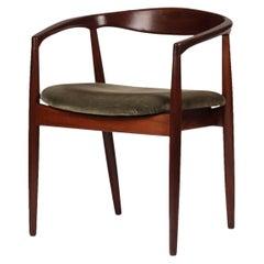 Scandinavian Modern Teak Troja Dinning Chairs Set of Four by Kai Kristiansen