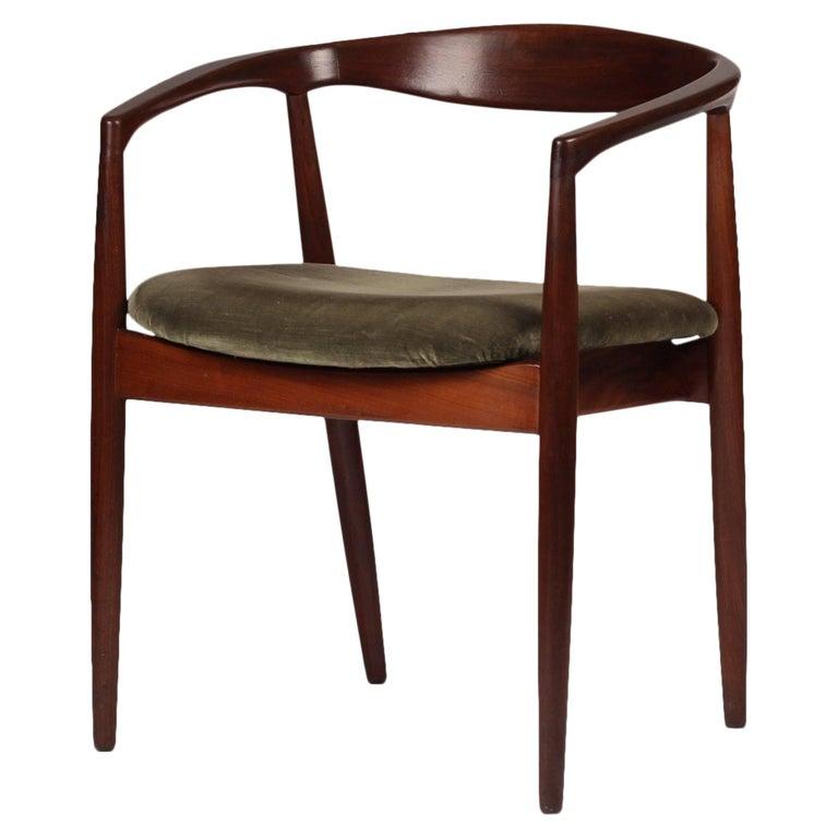 Set of Four Mid-Century Modern Teak Troja Dinning Chairs by Kai Kristiansen