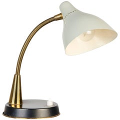 Oluce, 1950s Flexible Table Lamp