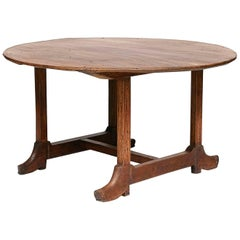 """Spanish Colonial Narra Wood """"Boot Table"""", Mid-19th Century"""