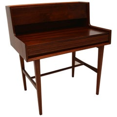 1950s Vintage Walnut Desk