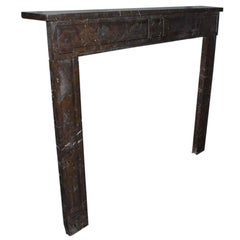 19th Century Louis Seize Marble Fireplace