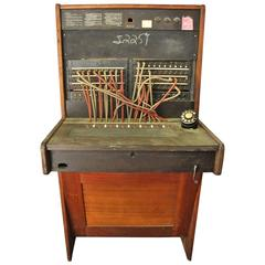 Vintage Western Electric Telephone Switchboard